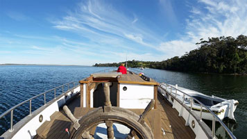 Contact Pearl Lugger Cruises in Nungurner, East Gippsland