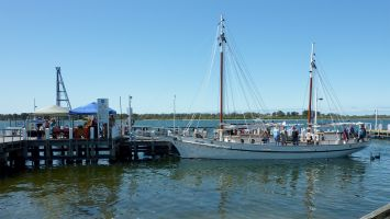Pearl Lugger OPEN DAY Metung Wharf 26 and 27 September 2015